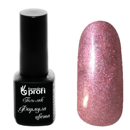 Формула Профи, Гель-лак УФ-LED №209 (коричнево-лиловый, 5 мл.)Формула Профи<br>Гель-лак,коричнево-лиловый, с блестками, плотный<br>