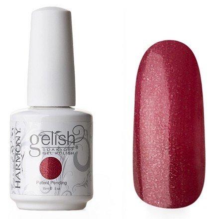 01339 Elegant Wish Harmony GelishHarmony Gelish<br>Цвет спелой вишни полупрозрачный с серебристыми микроблестками<br>