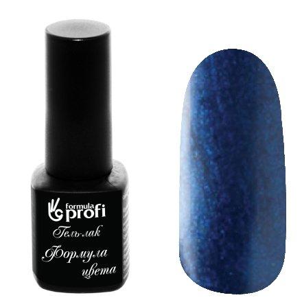 Формула Профи, Гель-лак УФ/LED №440 (вьюнок синий, 5 мл.)Формула Профи<br>Гель-лак,синий, перламутровый, плотный<br>