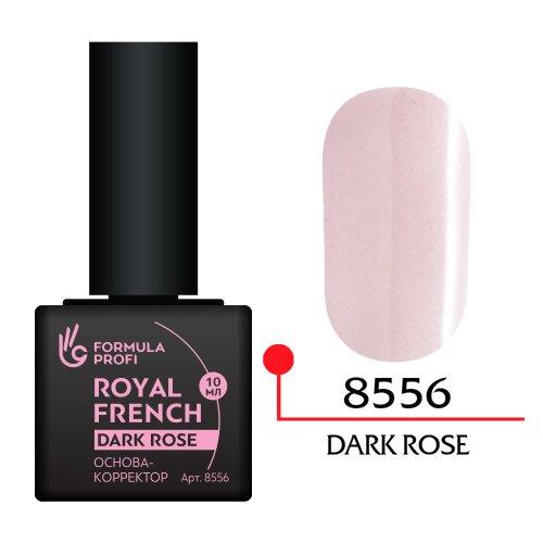 Формула Профи, Основа корректор (dark rose, 10 мл. арт.8556)Формула Профи<br>Цвет Dark Rose (темно-розовый цвет) с мелкими частичками глиттера. Подходит для клиенток со смуглой и бежевым оттенком кожи рук.<br>