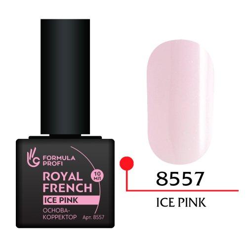 Формула Профи, Основа корректор (ice pink, 10 мл. арт.8557)Формула Профи<br>Цвет Ice pink (холодно-розовый) -очень модный среди молодежи цвет. Подходит для клиенток с любым оттенком кожи.<br>