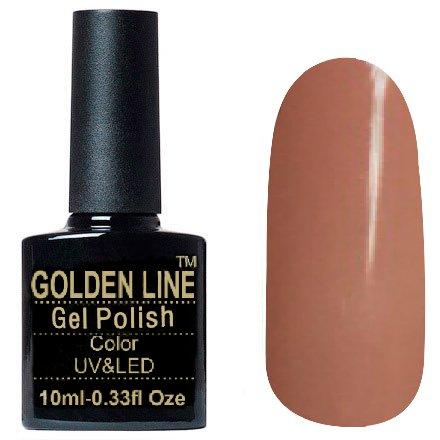 Golden Line, Гель лак - SH14Golden Line<br>Гель-лак бежевый, без блесток и перламутра, плотный<br>