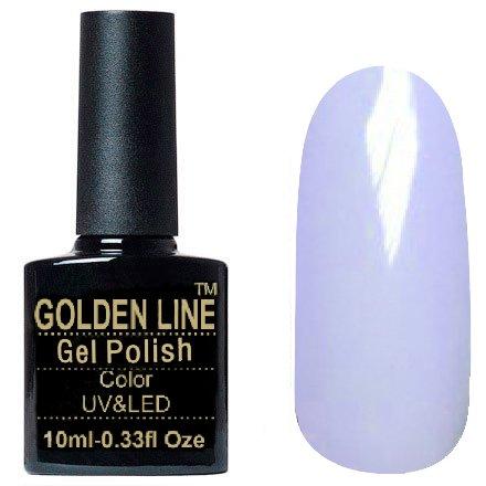Golden Line, Гель лак - SH30Golden Line<br>Гель-лак очень светло-сиреневый, без блесток и перламутра, плотный<br>