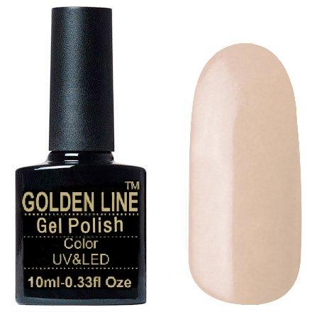 Golden Line, Гель лак - SH42Golden Line<br>Гель-лак телесный, без блесток и перламутра, плотный<br>