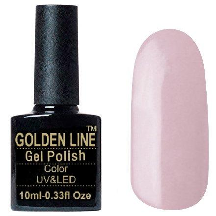 Golden Line, Гель лак - SH44Golden Line<br>Гель-лак телесно-розовый, без блесток и перламутра, полупрозрачный<br>