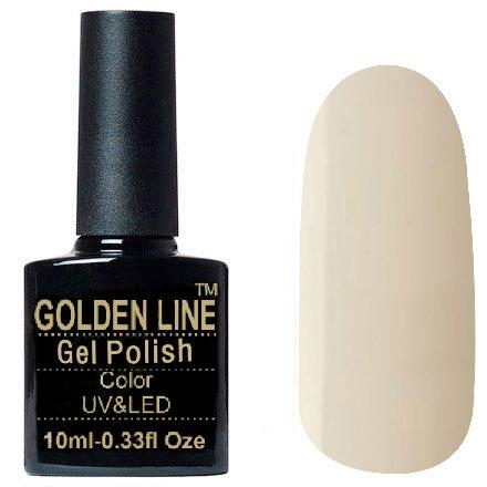 Golden Line, Гель лак - SH52Golden Line<br>Гель-лак серовато-бежевый, без блесток и перламутра, полупрозрачный<br>