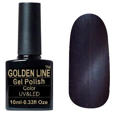 Golden Line, Гель лак - Cat Eyes 06Golden Line<br>Гель-лак кошачий глаз, серо-сиреневый перламутр, плотный<br>