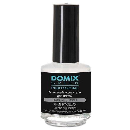 Domix, Алмазный укрепитель для ногтей (17 мл.)Лечебные и укрепляющие средства Domix<br>Средство выравнивает поверхность ногтевой пластины, предупреждает изменение цвета ногтей.<br>