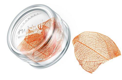ruNail, Дизайн для ногтей: сухие листья (оранжевый), DRWS001Сухие листья<br>Сухие листья подходят для внутреннего дизайна при моделировании ногтей акрилом и гелем.<br>
