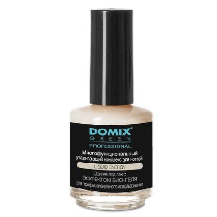 Domix, Многофункциональный ухаживающий комплекс для ногтей (17 мл.)Лечебные и укрепляющие средства Domix<br>Средство скрывает дефекты, фиксирует отслоившиеся кромки, предупреждает изменение цвета ногтей.<br>