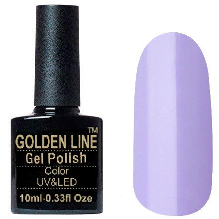Golden Line, Гель лак - BS 311Golden Line<br>Гель-лак светло сиреневый, без блесток и перламутра, плотный<br>