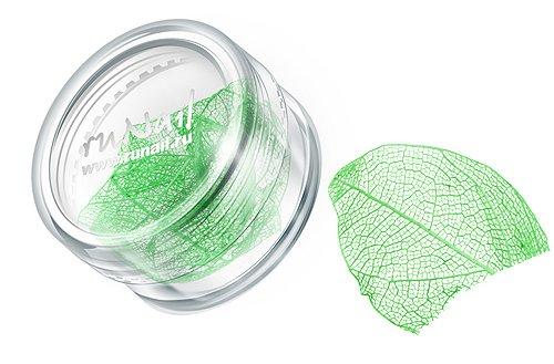 ruNail, Дизайн для ногтей: сухие листья (зеленый), DRWS007Сухие листья<br>Сухие листья подходят для внутреннего дизайна при моделировании ногтей акрилом и гелем.<br>