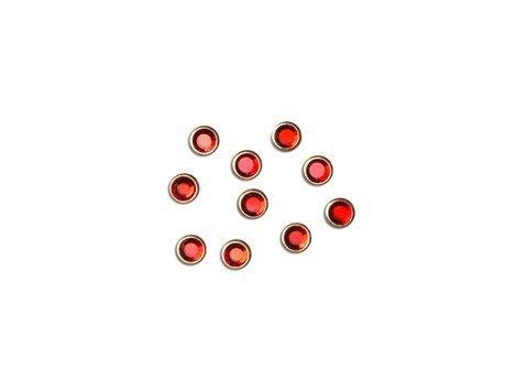 Lianail, Стразы в металлической оправе - красныйСтразы<br>Стразы в металлической оправе - красный<br>