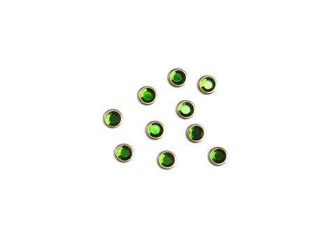 Lianail, Стразы в металлической оправе - зеленыйСтразы<br>Стразы в металлической оправе - зеленый<br>