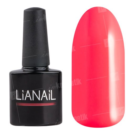 Lianail, Гель-лак неоновый - Страстная клубника TSSO-001 (10 мл.)Lianail<br>Глубокий неоново-розовый цвет с холодным подтоном, плотный<br>