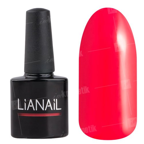 Lianail, Гель-лак неоновый - Пылкий арбуз TSSO-005 (10 мл.)Lianail<br>Яркий неоновый арбузный цвет, плотный<br>
