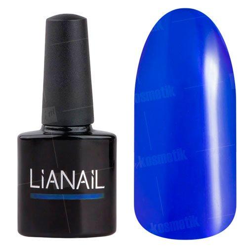 Lianail, Гель-лак витражный эффект - Черничка VTSO-003Lianail<br>Витражный дизайн синего цвета, плотный<br>