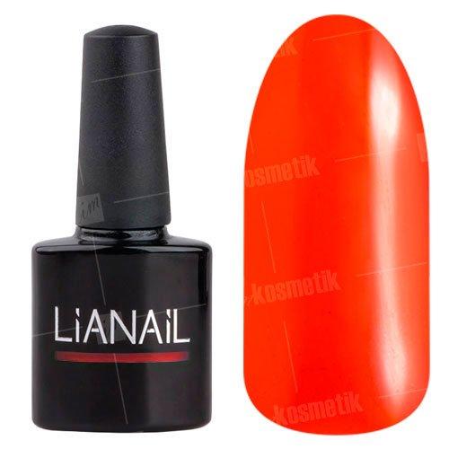 Lianail, Гель-лак витражный эффект - Морошка VTSO-005Lianail<br>Витражный дизайн оранжевого цвета, плотный<br>