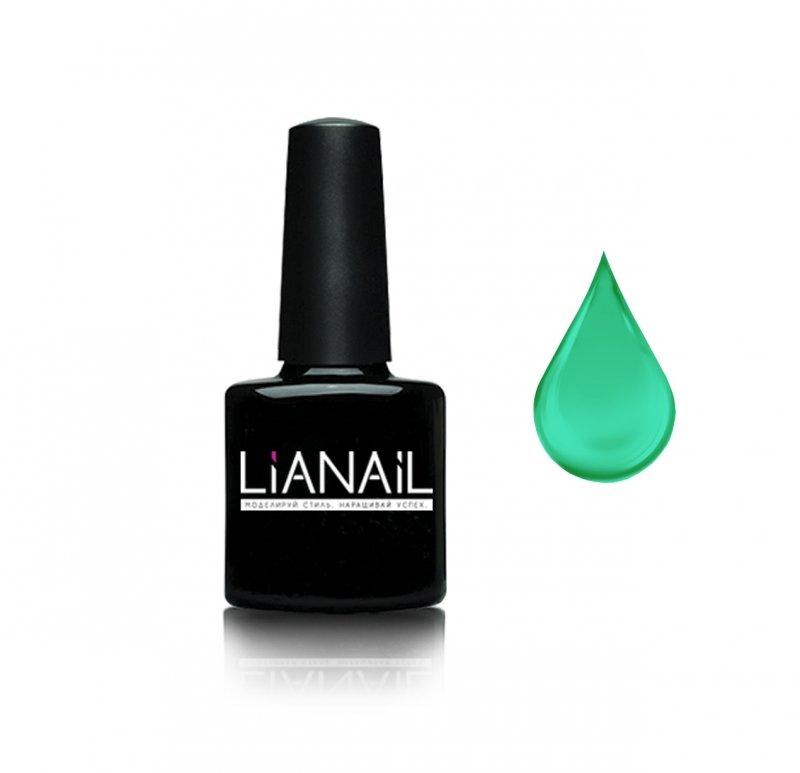 Lianail, Гель-лак витражный эффект - Мелисска VTSO-007Lianail<br>Витражный дизайн цвета зеленой бутылки лимонада, плотный<br>