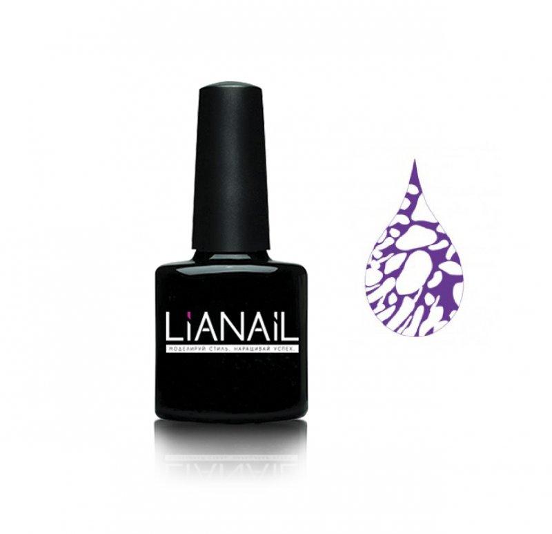 Lianail, Гель-лак эффект растекания - Мистика MTSO-047Lianail<br>Гель-лак эффект растекания цвет фиолетовый<br>