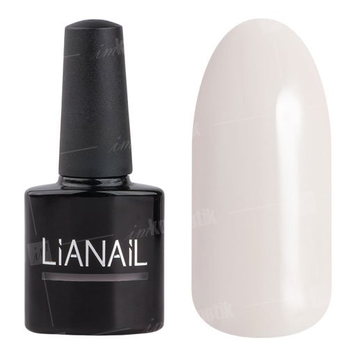 Lianail, Гель-лак - Ангел чистоты PTSO-002Lianail<br>Гель-лак молочный оттенок, плотный<br>