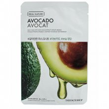 The Face Shop, Real Nature Avocado Face Mask - Маска с экстрактом авокадо (20 гр.)