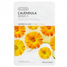 The Face Shop, Real Nature Calendula Face Mask - Маска для лица с экстрактом календулы (20 гр.)