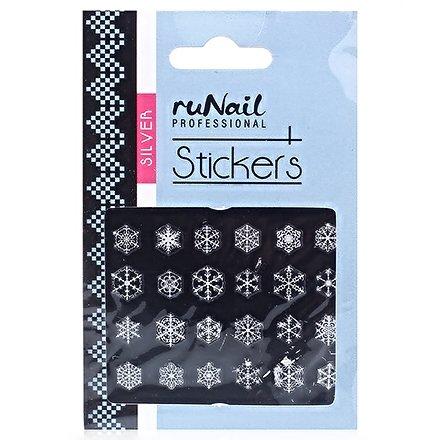 ruNail, Наклейки для дизайна ногтей №2082Наклейки для дизайна ногтей<br>Самоклеящиеся новогодние наклейки для дизайна ногтей.<br>