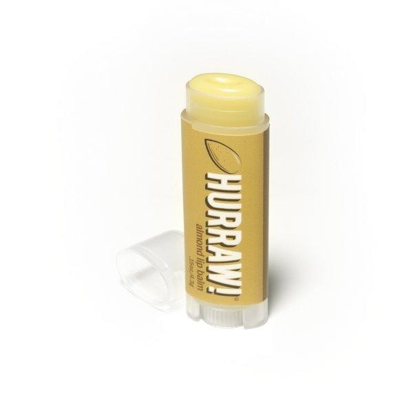 HURRAW!, Бальзам для губ - Almond (Миндаль)HURRAW!<br>Бальзам для губ с питательным, свежевыжатым миндальным маслом из орехов<br>