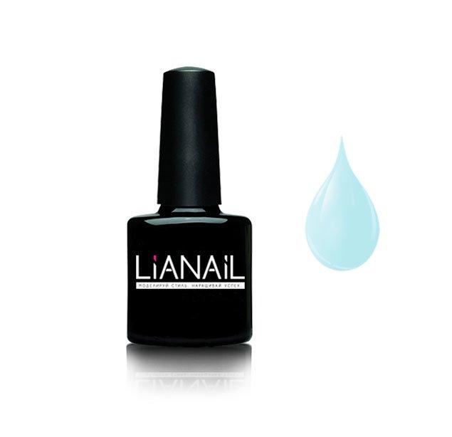 Lianail, Гель-лак пастельный - Прогулка под дождем MTSO-054 (10 мл.)Lianail<br>Гель-лак пастельный, бело-голубой,плотный<br>