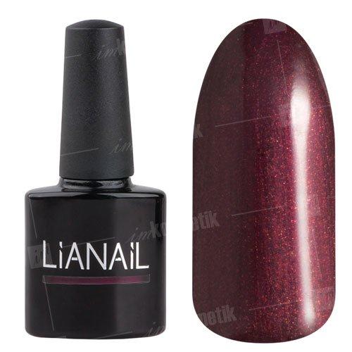 Lianail, Гель-лак c микроблеском - Гордыня MTSO-065 (10 мл.)Lianail<br>Гель-лак с микроблеском,винный оттенок,плотный<br>
