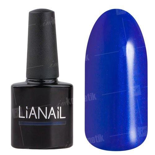 Lianail, Гель-лак c микроблеском - Гнев MTSO-066 (10 мл.)Lianail<br>Гель-лак с микроблеском,ярко синий,плотный<br>