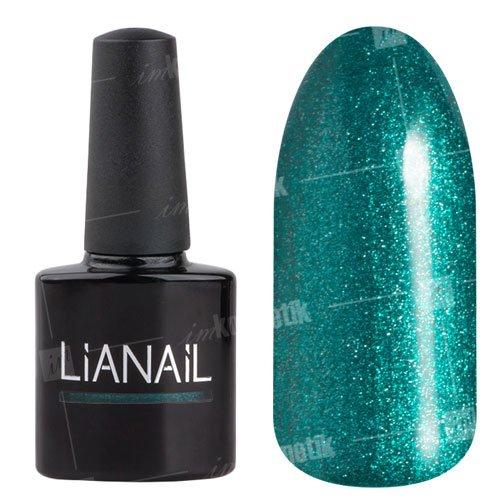 Lianail, Гель-лак c микроблеском - Зависть MTSO-067 (10 мл.)Lianail<br>Гель-лак с микроблеском,изумрудный,плотный<br>