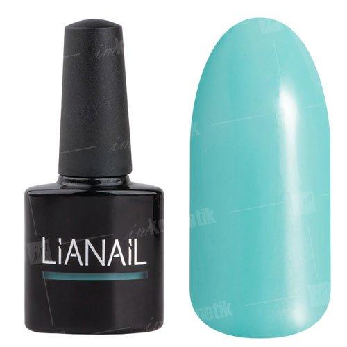 Lianail, Гель-лак c микроблеском - Чревоугодие MTSO-068 (10 мл.)Lianail<br>Гель-лак с микроблеском,светло-бирюзовый,плотный<br>