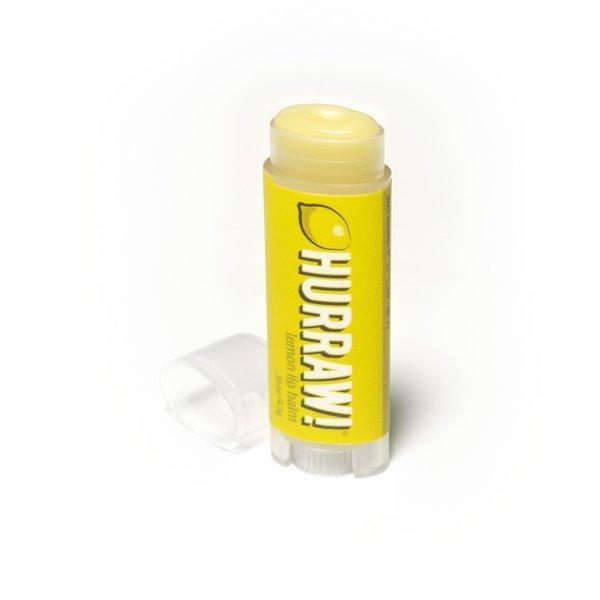 HURRAW!, Бальзам для губ - Lemon (Лимон)HURRAW!<br>Бальзам для губпитательный<br>