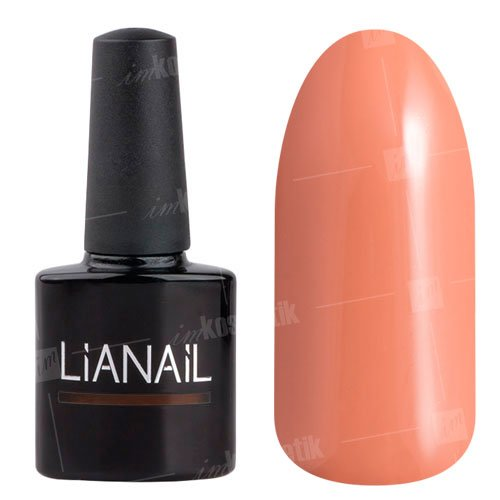 Lianail, Гель-лак - Любимые бусики MTSO-028 (10 мл.)Lianail<br>Гель-лак, персиковый,плотный<br>