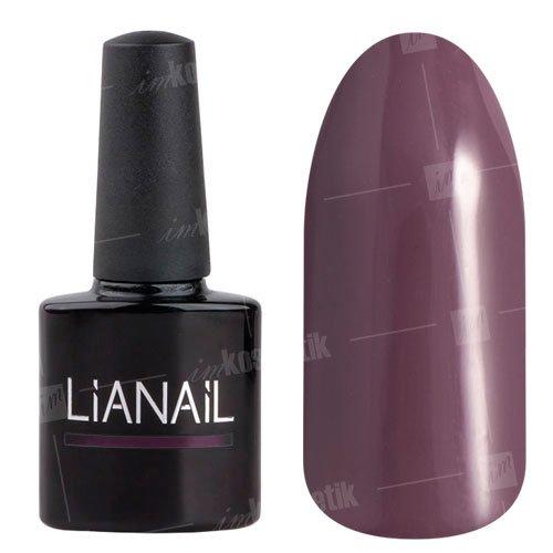 Lianail, Гель-лак - Стильная штучка MTSO-031 (10 мл.)Lianail<br>Гель-лак,сливово-фиолетовый,плотный<br>