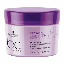 Schwarzkopf, BC Keratin Smooth Perfect - Маска для волос (200 мл.)