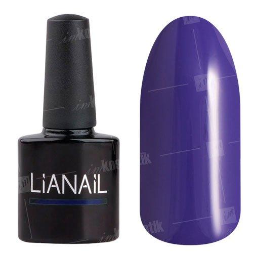Lianail, Гель-лак - Найтпати MTSO-036 (10 мл.)Lianail<br>Гель-лак, фиолетово-синий,плотный<br>