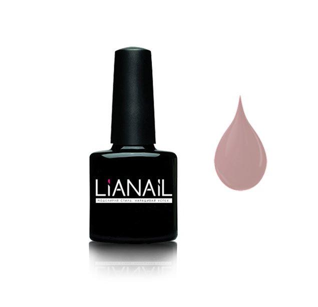 Lianail, Гель-лак нюдовый - Ароматное какао MTSO-022 (10 мл.)Lianail<br>Гель-лак,серо-коричневый,плотный<br>