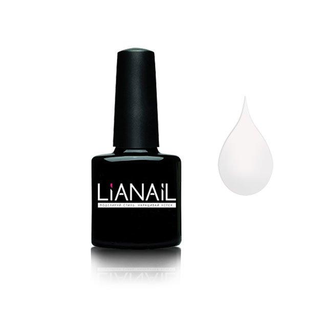 Lianail, Гель-лак - Крылья Ангела MTSO-001 (10 мл.)Lianail<br>Гель-лак,белый,плотный<br>