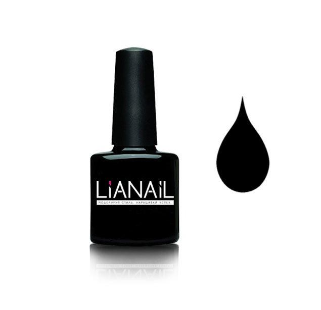 Lianail, Гель-лак - Черный лебедь MTSO-002 (10 мл.)Lianail<br>Гель-лак,черный,плотный<br>