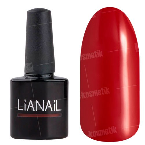 Lianail, Гель-лак - Поцелуй вампира MTSO-004 (10 мл.)Lianail<br>Гель-лак,красный,плотный<br>