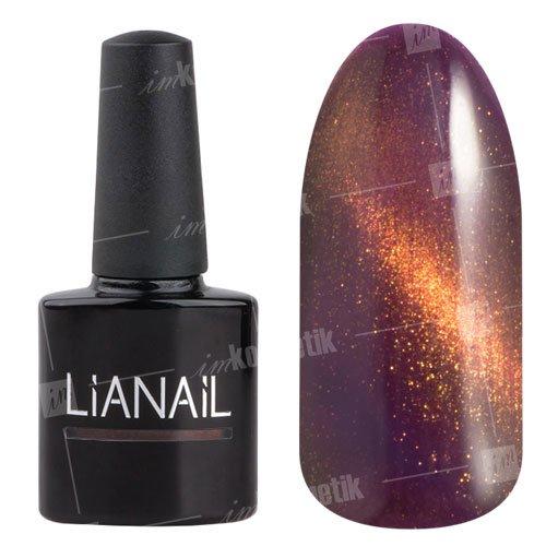 Lianail, Гель-лак эффект кошачий глаз - Алистер CESO-013 (10 мл.)Lianail<br>Гель-лаккошачий глаз, темно-бордовый оттенок, сзолотистым переливом, плотный<br>