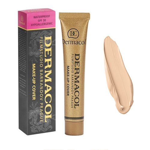 dermacol make-up cover тональный крем профессиональный 30 g