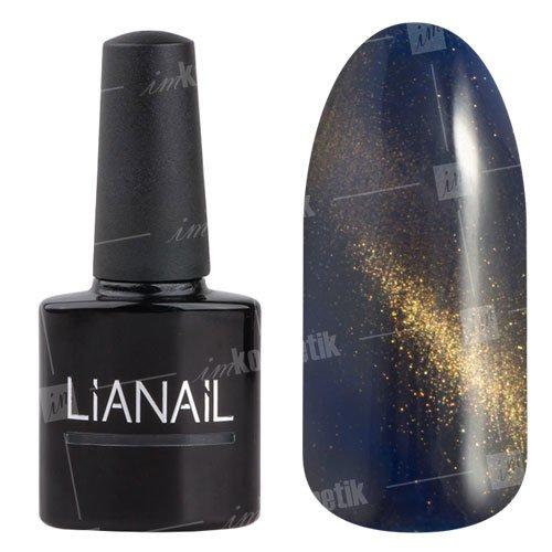 Lianail, Гель-лак эффект кошачий глаз - Шупетт CESO-016 (10 мл.)Lianail<br>Гель-лаккошачий глаз, темно-дымчатого оттенка, сзолотистым переливом, плотный<br>