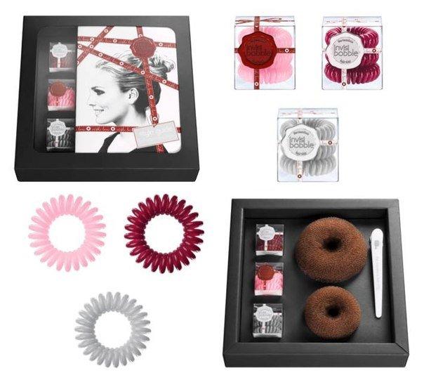 Invisibobble Styling Box, Набор (Черный)Резинка-браслет Invisibobble<br>Набор аксессуаров для волос<br>