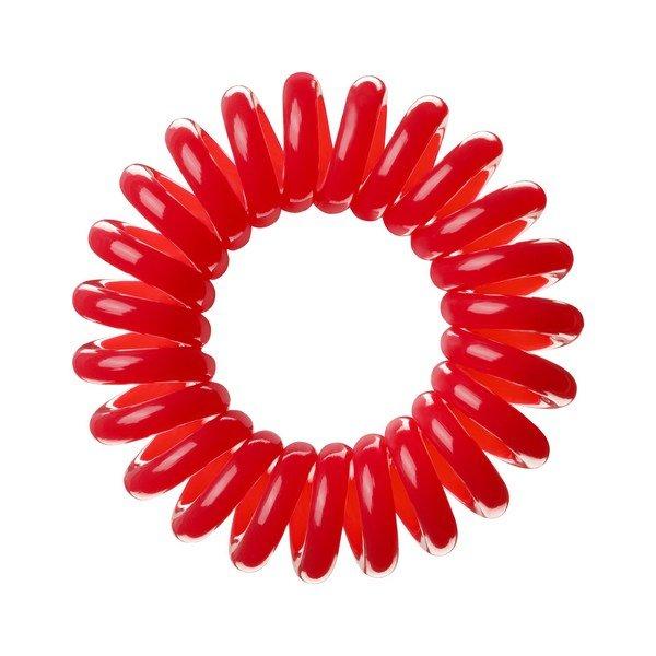 Invisibobble, Резинка-браслет для волос - Raspberry Red (Красный)Резинка-браслет Invisibobble<br>Резинки для волос Invisibobble красные (3 шт.)<br>