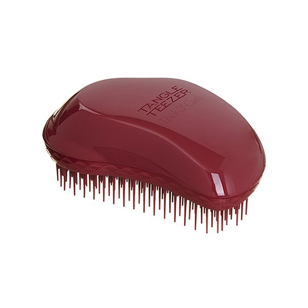 Tangle Teezer, Расческа Original Thick &amp; Curly (бордовый)Расчески Tangle Teezer<br>Tangle Teezer, Original Thick &amp; Curly -профессиональная расческа для волос.Классическая коллекция<br>