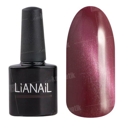Lianail, Гель-лак эффект кошачий глаз - Гламурная рысь CESO-001 (10 мл.)Lianail<br>Гель-лаккошачий глаз,цвет розовой фуксии с металлическим отливом, плотный<br>
